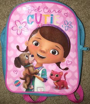 Used, Disney Doc McStuffins Girls Mini Backpack for Sale for sale  Dunwoody, GA