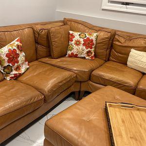 Leather Sofa for Sale in Massapequa, NY