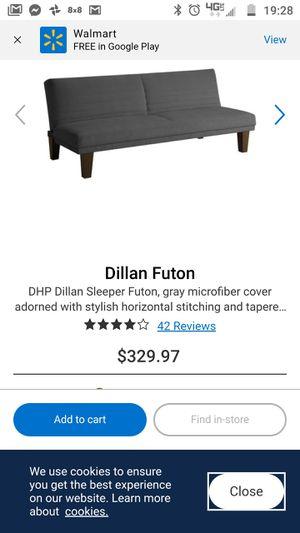 Dillan Futon for Sale in TN OF TONA, NY