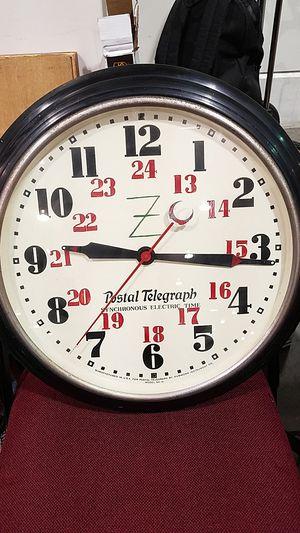 Rare postal telegraph Electric clock for Sale in Castro Valley, CA