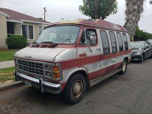 1985 dodge ram 2500 prospector camper van for Sale in Los Angeles, CA