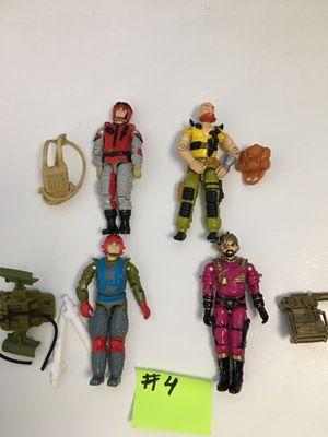 Vintage GI Joe action figures .Diferent prices for Sale in Reston, VA