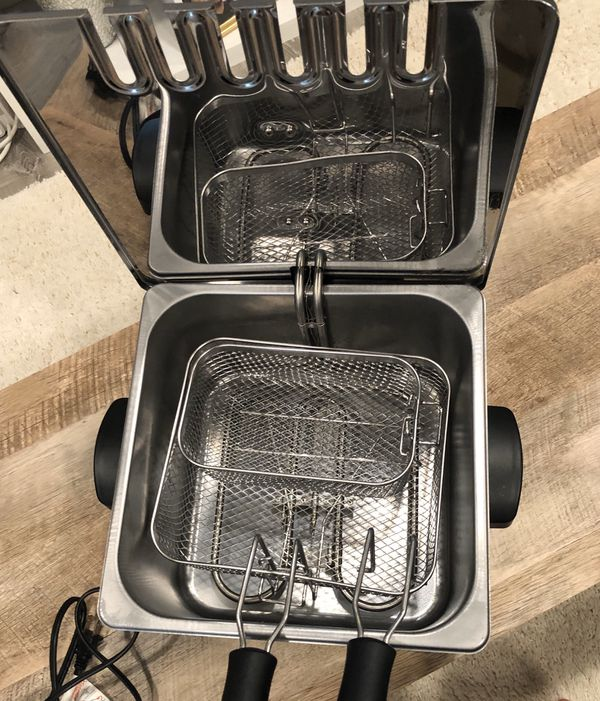T-FAL Triple Basket Fryer