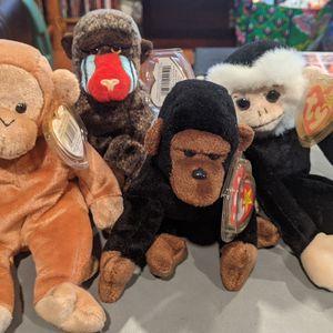 Beanie Babies - Monkey Bundle for Sale in Fullerton, CA