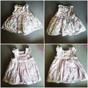 Two 0-3 months baby girl dresses for Sale in Phoenix, AZ