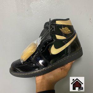 Jordan 1 Black Metallic Gold for Sale in Washington, DC