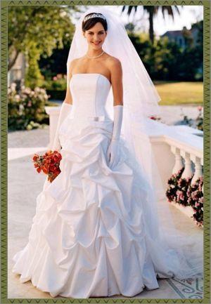 Elegant corset Bridal strapless Dress Size 6P for Sale in Tampa, FL