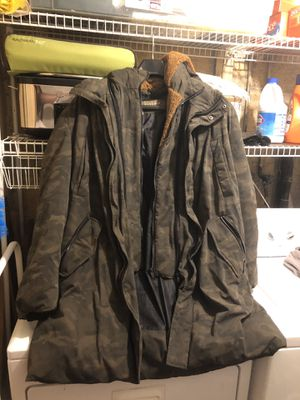 Zara Mens Parka with Removable hoodie for Sale in Bethesda, MD