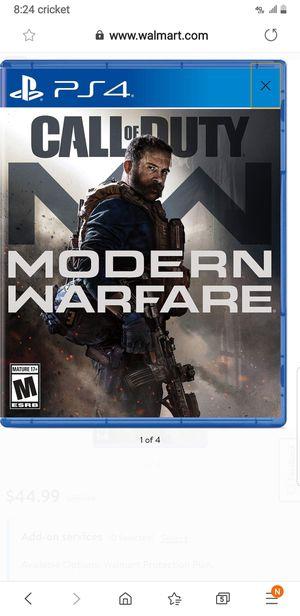 Modern warfare for Sale in Atwater, CA