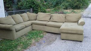 Frontroom furnishings sectional couch for Sale in Columbus, OH
