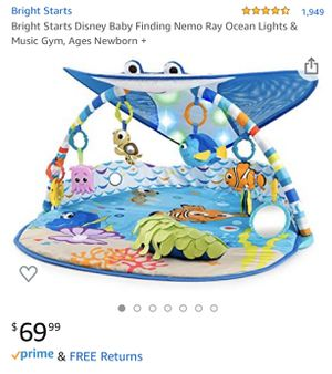 Bright Starts ⭐️ Finding Nemo Disney Music Gym for Sale in Miami, FL