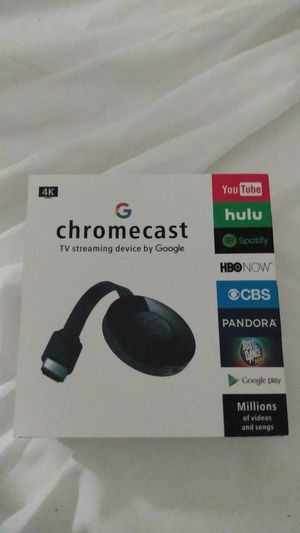 Chromecast TV streaming by Google BRAND NEW for Sale in Berkeley, CA