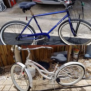 Beach cruisers.. both for $250 for Sale in Davie, FL