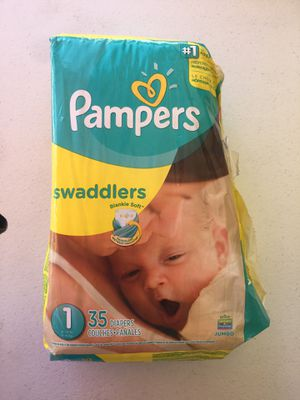 Diapers Pampers size 1. 5 bags for $25 for Sale in Las Vegas, NV
