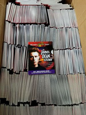 580 New DVDs James Dean Story 1957 Rebel Without A Cause for Sale in York, PA