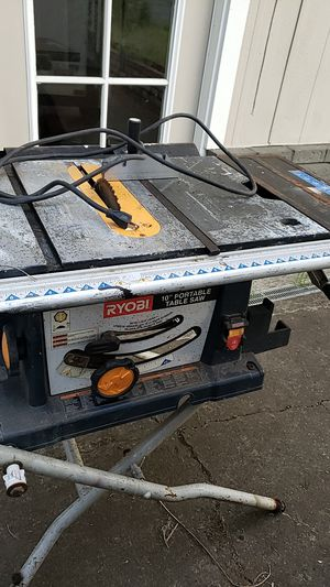 Table saw ryobi for Sale in Vancouver, WA