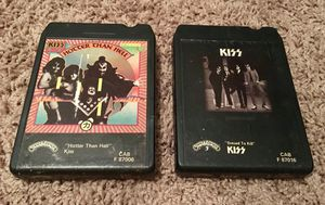 KISS 8-Track Tapes for Sale in Louisburg, NC