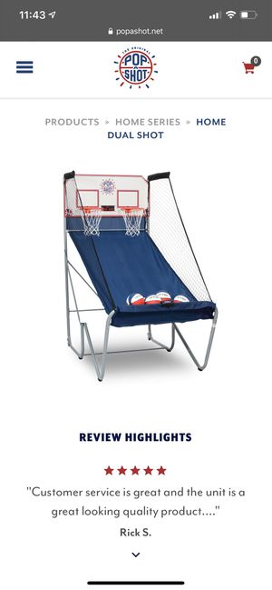 Kids basketball game like new for Sale in Wilsonville, OR