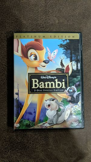 Disney Bambi DVD for Sale in Pomona, CA