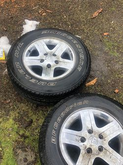 Dodge 265/65/17 Wheels And Tires for Sale in Portland,  OR