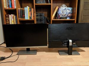 "2 23"" AOC i2367F Computer Monitors for Sale in Riverside, CA"