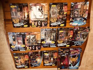 Star Trek Action Figures Collection (14 of them) for Sale in Gilbert, AZ