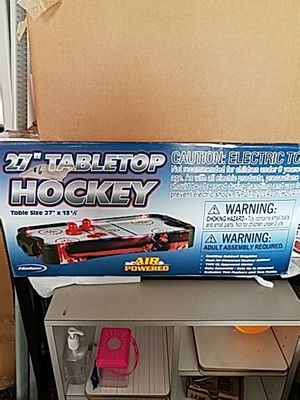 Table top air hockey for Sale in Cleveland, OH