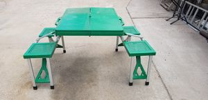 Fold up Picnic table & chairs for Sale in Payson, AZ