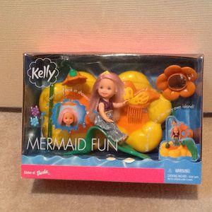 Mermaid Fun Kelly Sister of Barbie NIB for Sale in Stamford, CT