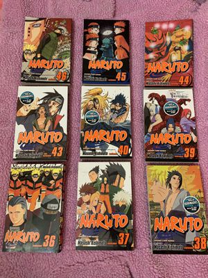 Naruto Shippuden Manga Set for Sale in Fresno, CA