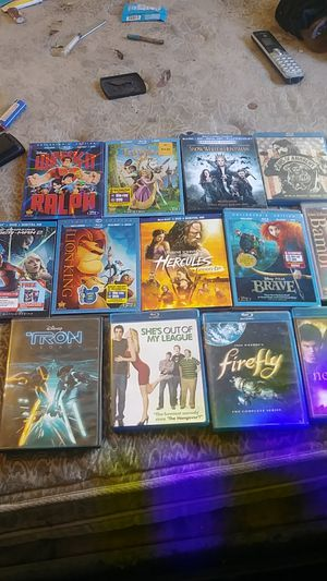 Lot of 20 bluearay movies for Sale in El Cajon, CA