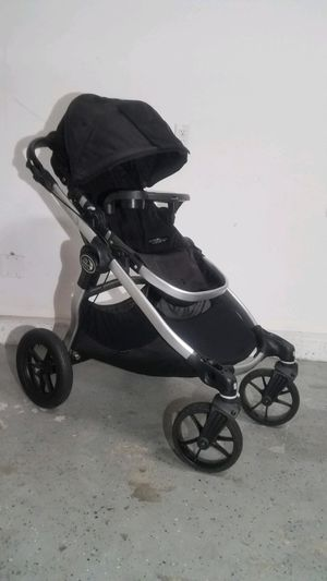 Baby jogger city select double stroller with Maxi/Cosi, Chicco infant seat adapter for Sale in Irvine, CA