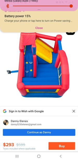 Small bounce house for Sale in Reedley, CA