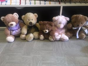 Bear plushies for Sale in Dallas, TX