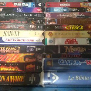 VHS 📼 Movies (Read Description) for Sale in Pomona, CA