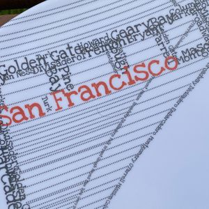 San Francisco Plate! Great Graphics! for Sale in Beverly Hills, CA