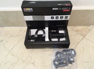 New Look Keo Classic 3 PLUS 8-12 Nm Road Bike Pedals for Sale in Coral Gables, FL