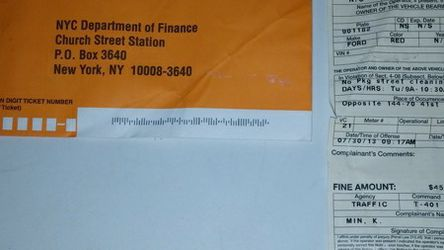 Got Outstanding Parking Tickets Or Bill's for Sale in Brooklyn,  NY