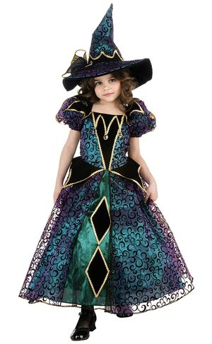 🎃 New, RADIANT WITCH Costume! Sizes 4-6 and 12-14 Available! for Sale in Perris, CA