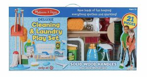 Melissa and Doug Deluxe Cleaning & Laundry Set - New in box for Sale in Fairfax, VA