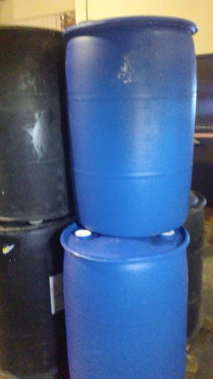 Plastic Barrels for Sale in Fort Worth, TX