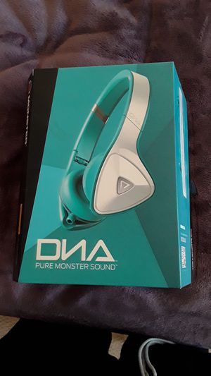 DNA pure monster sound headphones for Sale in Brentwood, CA