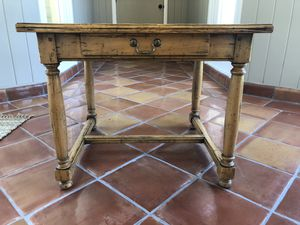 Wooden table with drawer for Sale in CORP CHRISTI, TX