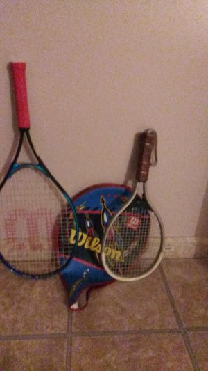 Tennis Racket 1 Wilson with cover for Sale in Queens, NY
