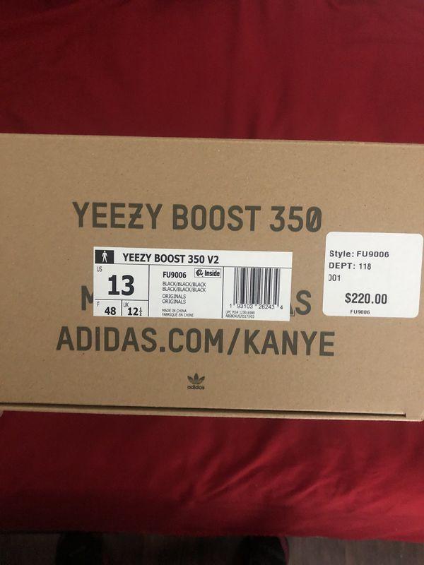Adidas Yeezy 350 Boost size 13