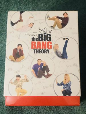 THE BIG BANG THEORY COMPLETE SERIES (ALL 12 SEASONS) SEALED for Sale in Hodgkins, IL