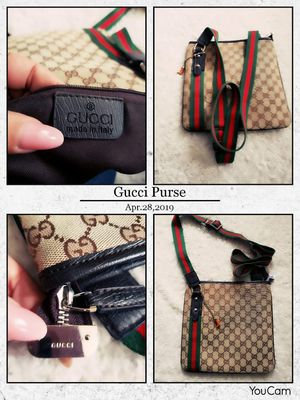 Authentic Gucci Purse perfect Condition for Sale in Revere, MA