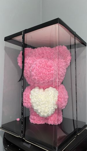 Rose Teddy Bear! for Sale in Chelsea, MA