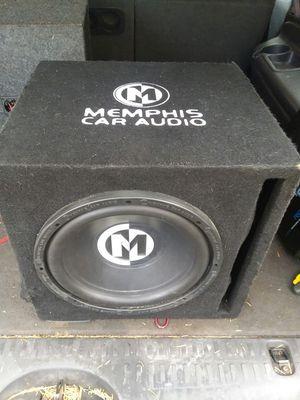 "Memphis 12"" subwoofer and 500 watt amp for Sale in Lynchburg, VA"