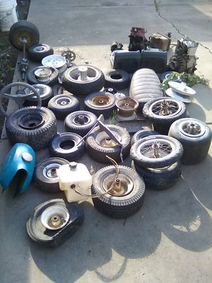 Go cart and mini bike parts cheap for Sale in Fresno, CA